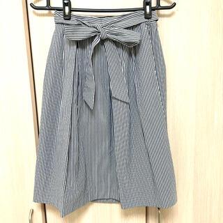 テチチ(Techichi)のテチチ ストライプ フレアスカート(ひざ丈スカート)