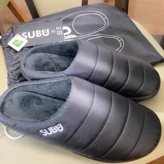 SUBU  サンダルブラック 24〜25.5センチ