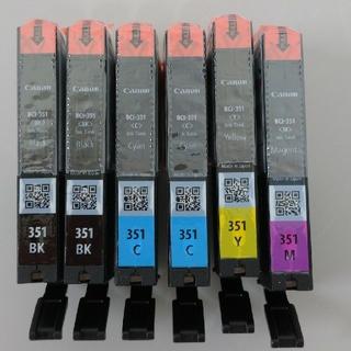 キヤノン(Canon)のキャノン インク BCI-351 4色6個セット(PC周辺機器)