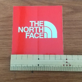 THE NORTH FACEステッカー赤(その他)