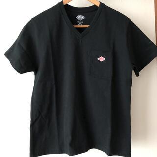 ダントン(DANTON)のダントン VネックTシャツ 黒(Tシャツ(半袖/袖なし))