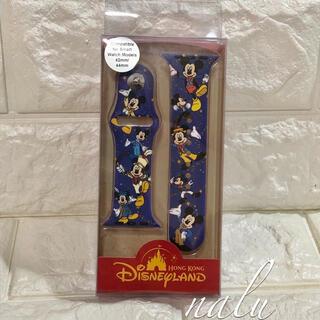 ディズニー(Disney)の香港ディズニー♡限定セール✨15周年限定デザインミッキーアップルウォッチベルト(ラバーベルト)
