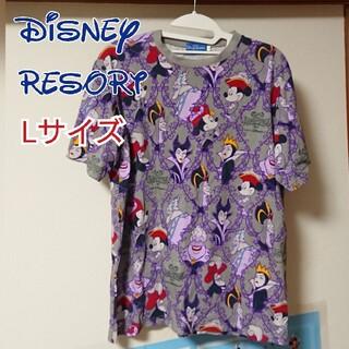 ディズニー(Disney)のディズニーリゾート 2017年 ハロウィン ミッキー ヴィランズ Tシャツ(Tシャツ(半袖/袖なし))