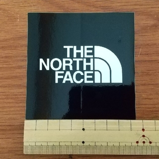 THE NORTH FACEステッカー黒  2枚(その他)