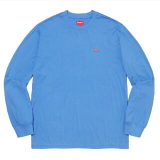 Supreme - Supreme Small Box L/S Tee light royal S