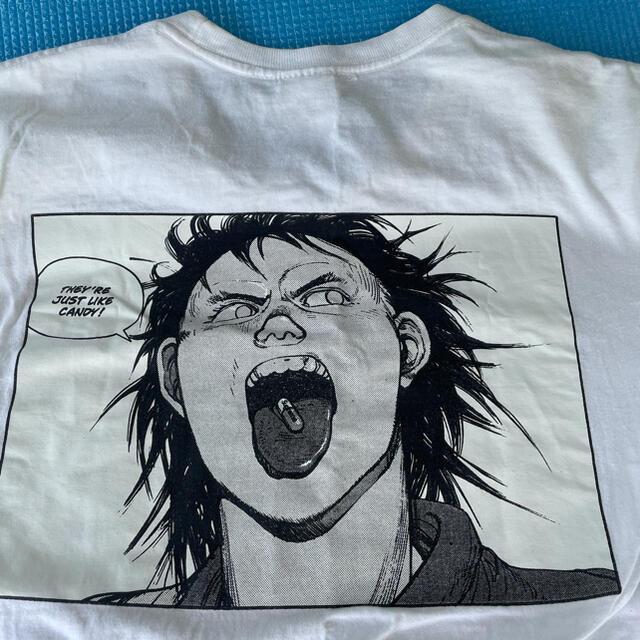 Supreme(シュプリーム)のsupreme AKIRA pill tee tシャツ Mサイズ アキラ 白 メンズのトップス(Tシャツ/カットソー(半袖/袖なし))の商品写真