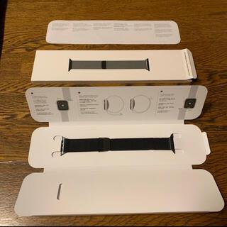 アップル(Apple)のapple watch ミラネーゼループ(金属ベルト)