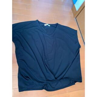 バックナンバー(BACK NUMBER)のBACK NUMBER 黒トップス(Tシャツ(半袖/袖なし))