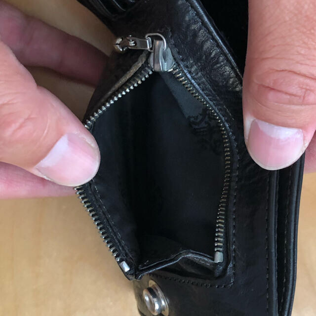 Chrome Hearts(クロムハーツ)のクロムハーツ ワンスナップ 二つ折り財布 メンズのファッション小物(折り財布)の商品写真