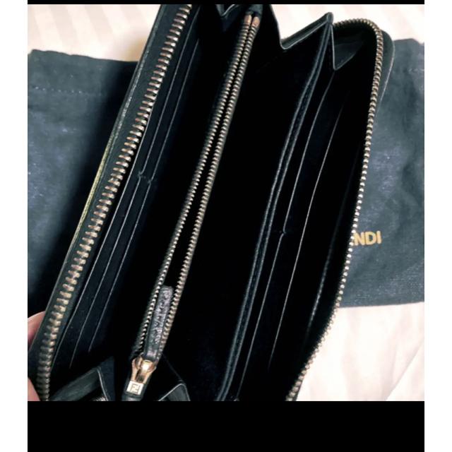FENDI(フェンディ)のFENDI 長財布 希少 レア ブラック フェンディ レディースのファッション小物(財布)の商品写真