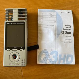 ズーム(Zoom)のZOOM ハンディビデオレコーダー Q3H(その他)