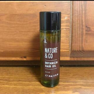 コーセー(KOSE)のネイチャーアンドコー ボタニカルヘアオイル(オイル/美容液)