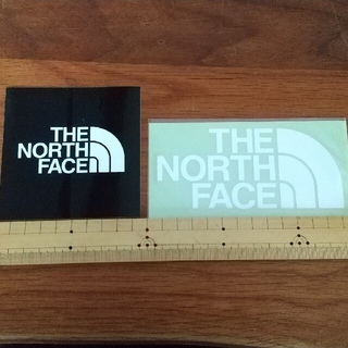THE NORTH FACEステッカー 黒・白(その他)