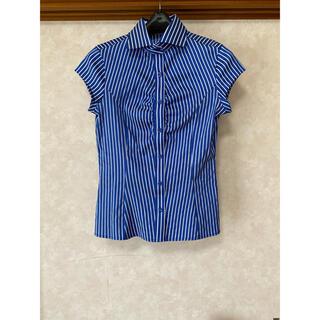 ナラカミーチェ(NARACAMICIE)のナラカミーチェ 半袖 ストレッチ 襟付き(シャツ/ブラウス(半袖/袖なし))