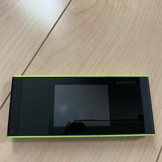 ファーウェイ(HUAWEI)のポケットWiFi WiMAX2+ W05(PC周辺機器)