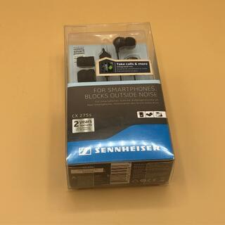 ゼンハイザー(SENNHEISER)のカナル型ヘッドフォン/マイク付 CX 275s ①(ヘッドフォン/イヤフォン)