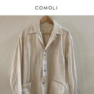 COMOLI - COMOLI  コモリ エクリュデニム ワークジャケット サイズ2