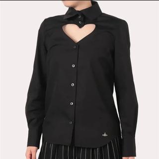 ヴィヴィアンウエストウッド(Vivienne Westwood)のVivienne Westwood ハート 胸空き シャツ ブラウス(シャツ/ブラウス(長袖/七分))