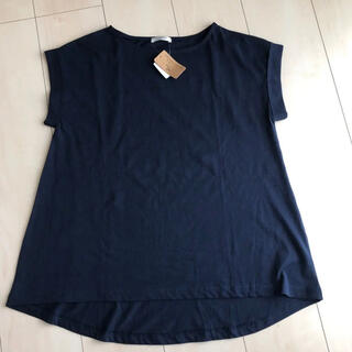 ハニーズ(HONEYS)のオーガニックコットン トップス カットソー(Tシャツ(半袖/袖なし))