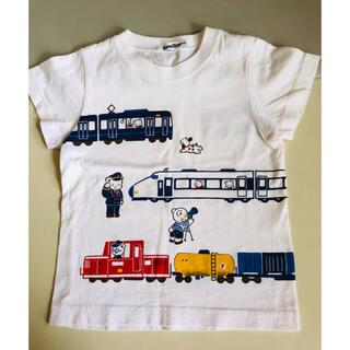 familiar - 1回着用 ファミリア Tシャツ サイズ 100