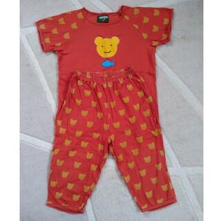 ワコール(Wacoal)のア1222様専用 ワコール アツコマタノ 110cm くま 赤 男女パジャマ(パジャマ)