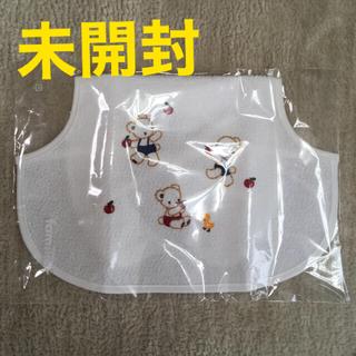 familiar - ファミリア お食事エプロン 新品未使用