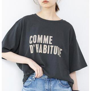 IENA - IENA  COMME DHABITUDE Tシャツ