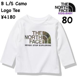 THE NORTH FACE - ザノースフェイス★ロングスリーブカモロゴティー/ベビー80