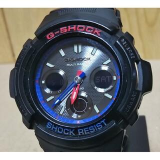 G-SHOCK - CASIO G-SHOCK AWG-M100SLT 電波 ソーラー 腕時計