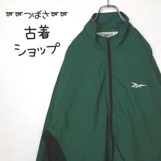 リーボック(Reebok)の【90年代】Reebok ナイロンジャケット 古着 刺繍 プルオーバー 90s(ナイロンジャケット)