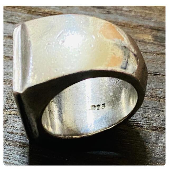 A&G(エーアンドジー)のA&G シルバー925 印台 リング メンズのアクセサリー(リング(指輪))の商品写真
