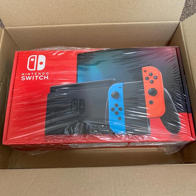 Nintendo Switch(ニンテンドースイッチ)のNintendo Switch ニンテンドースイッチ 本体 ネオンカラー  新品 エンタメ/ホビーのゲームソフト/ゲーム機本体(家庭用ゲーム機本体)の商品写真