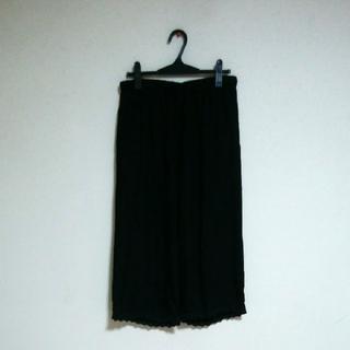 nest Robe - nest Robe  パンツ裾レース BLACK