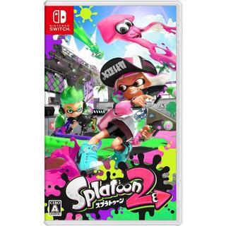ニンテンドースイッチ(Nintendo Switch)の新品未開封スプラトゥーン2(携帯用ゲームソフト)