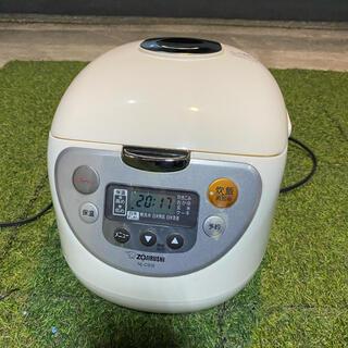 ゾウジルシ(象印)の象印 炊飯器 マイコン式 1升 ホワイト NL-CS18-WA(炊飯器)