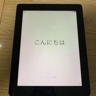 アップル(Apple)の【値下げ】APPLE iPad Wi-Fi 64GB 2012 BLACK(タブレット)