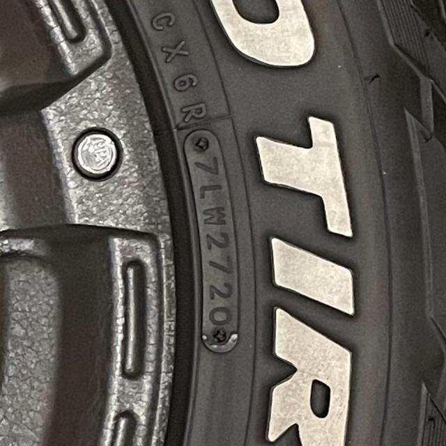 デリカd5アルミホイール 自動車/バイクの自動車(タイヤ・ホイールセット)の商品写真