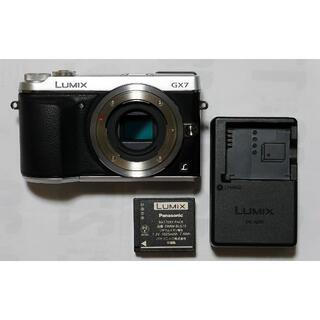 Panasonic - Panasonic LUMIX DMC-GX7 ボディ シルバー