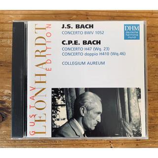 グスタフ・レオンハルト J.S.Bach,C.P.E.Bach 協奏曲集(クラシック)