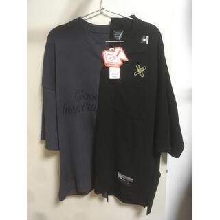 ジーユー(GU)のGU オーバーサイズT キリカエ ミハラヤスヒロ(Tシャツ/カットソー(半袖/袖なし))