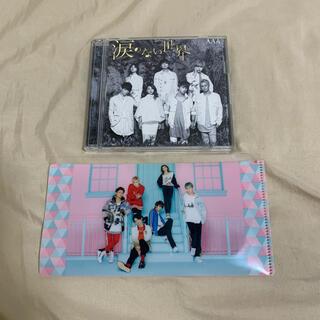 トリプルエー(AAA)のAAA 涙のない世界 CD DVD LIFE クリアファイル (アイドルグッズ)