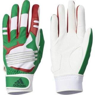 アディダス(adidas)のadidas JL(20-21cm) 子供用/両手バッティンググローブ・手袋(グローブ)