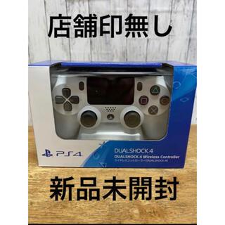 プレイステーション4(PlayStation4)の②PS4 ワイヤレスコントローラー DUALSHOCK 4グレイシャー ホワイト(その他)