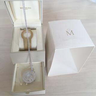 MIKIMOTO - MIKIMOTO パール 2way 腕時計 ネックレス ベージュ