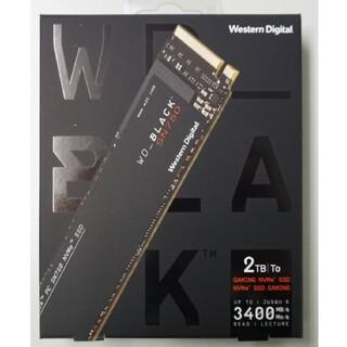 ウエスタンエディション(Western Edition)のWestern Digital WD Black SN750 2TB SSD(PC周辺機器)
