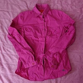 ヴィヴィアンウエストウッド(Vivienne Westwood)のヴィヴィアン・ウエストウッド シャツ ※難あり(シャツ/ブラウス(長袖/七分))