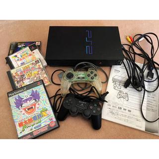 プレイステーション2(PlayStation2)のプレステ2 本体・ソフトセット(家庭用ゲーム機本体)