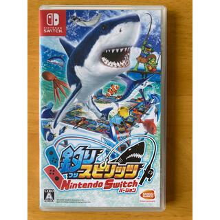 バンダイナムコエンターテインメント(BANDAI NAMCO Entertainment)の釣りスピリッツ Switchバージョン(家庭用ゲームソフト)