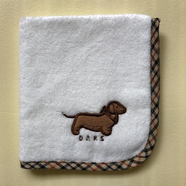 DAKS(ダックス)の【新品未使用】DAKS ダックス 刺繍タオルハンカチ ハンドタオル レディースのファッション小物(ハンカチ)の商品写真