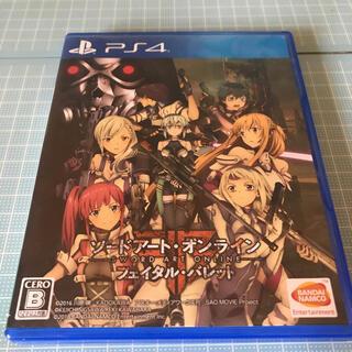 PlayStation4 - ソードアート・オンライン フェイタル・バレット PS4